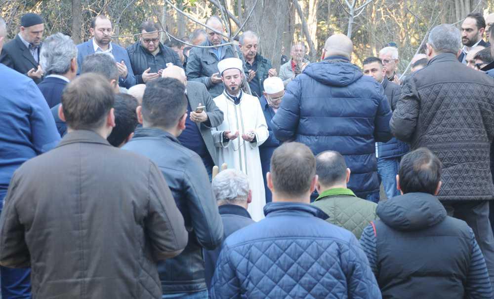 Hacı Ömer Canatan son yolculuğuna uğurlandı