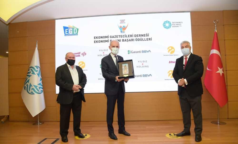 12. Ekonomi Basını Başarı Ödülleri  sahiplerini buldu