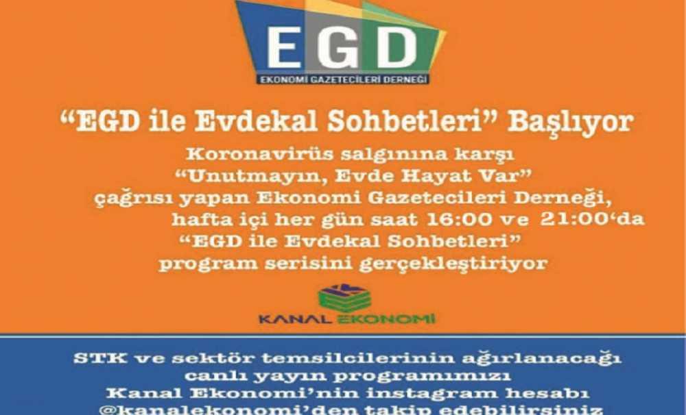 EGD ekonomi gündemini Instagram'a taşıdı...