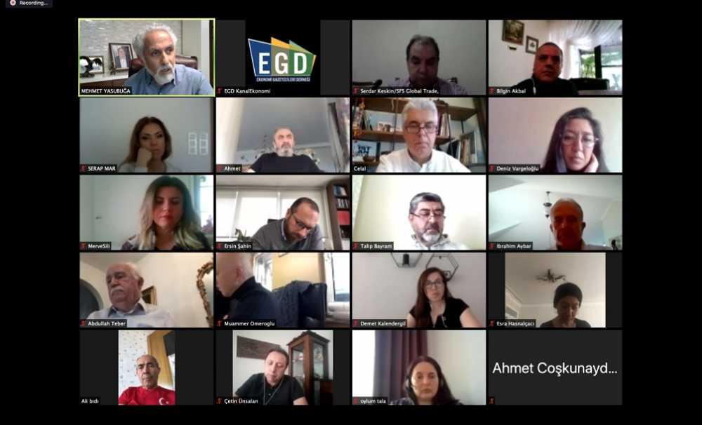 EGD Markasanat İş Sohbetleri dijitalde yoğun katılımla devam ediyor.