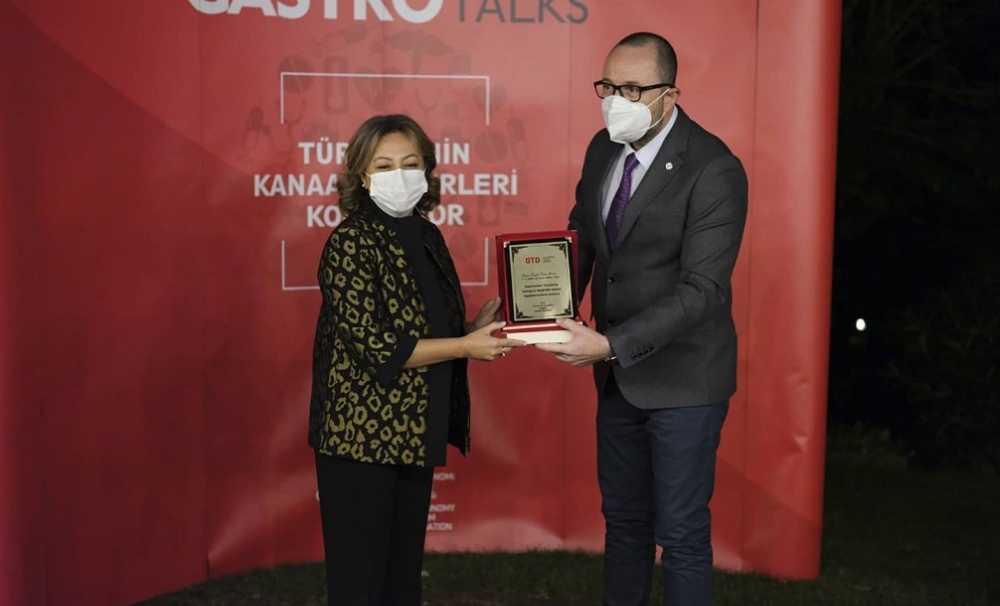 ''GASTROTALKS'' konuşmacısı TC. Kültür Turizm Bakan Yardımcısı Sn. Özgül Özkan Yavuz oldu.