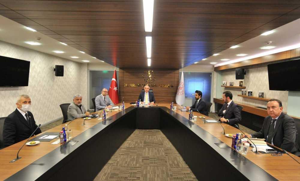 GTD'nin Kültür ve Turizm Bakanlığı ziyareti...