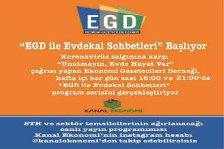 EGD ekonomi gündemini Instagram'a taşıdı…