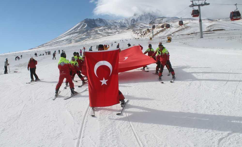 Erciyes'Te Teröre Tepki