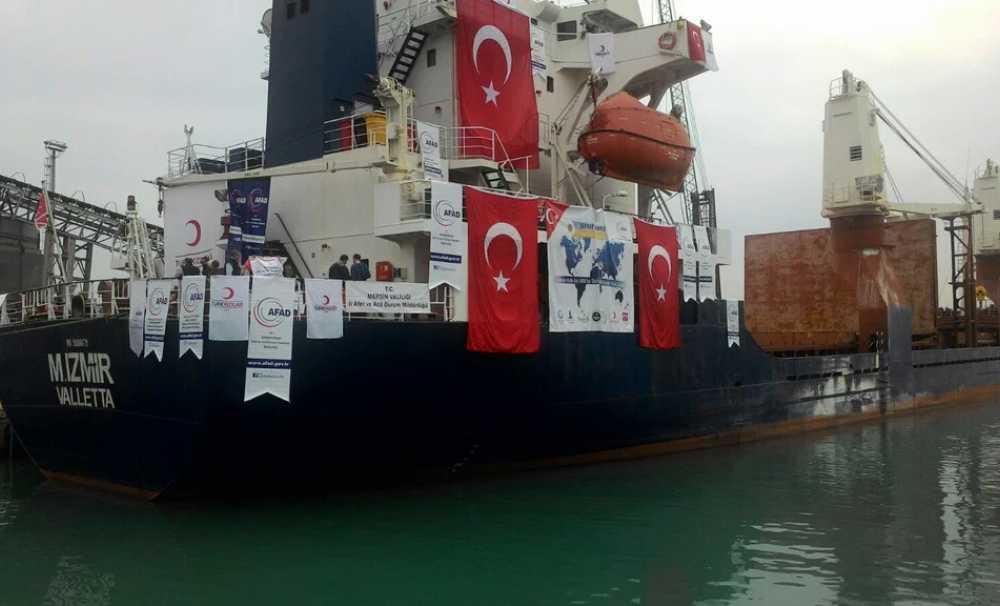 Şefkat Gemisi  Yemen halkı için yola çıktı
