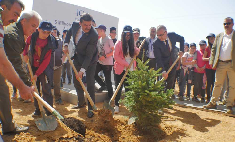 ICA 3,7 Milyon Ağaç Ve Bitkiyi İstanbul'un Doğasına Kazandırdı