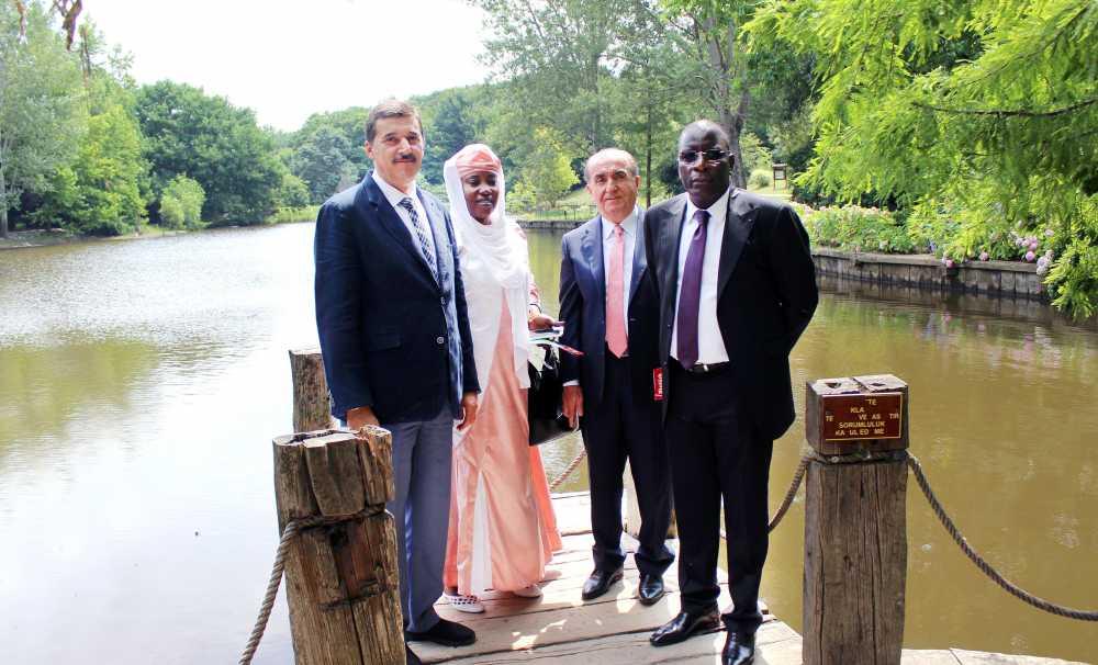 Nijer Ve Türkiye Dostluğunu Simgeleyecek Orman, İstanbul'da Törenle Açıldı
