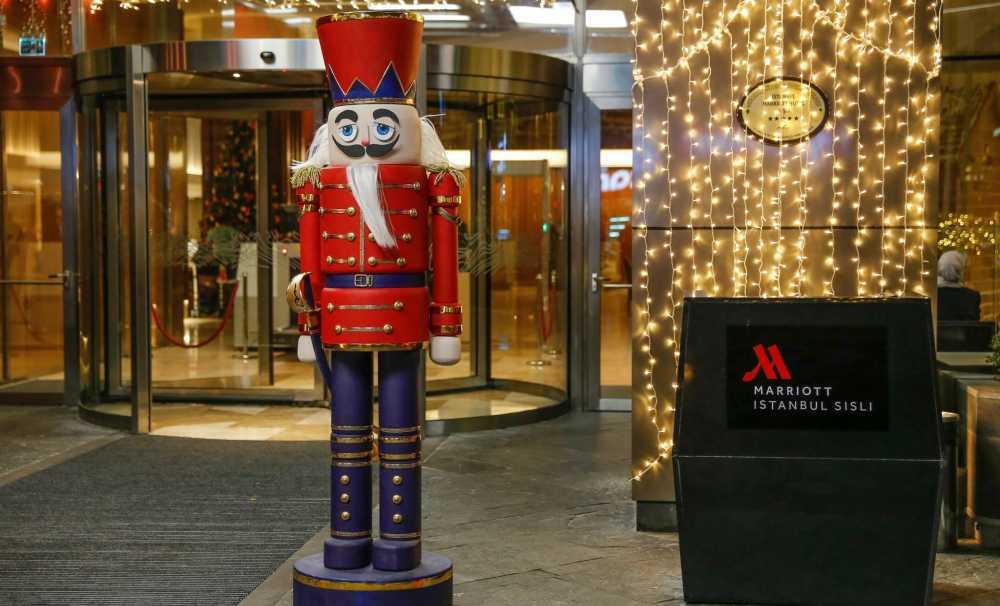 İstanbul Marriott Hotel Şişli'de Yılbaşı