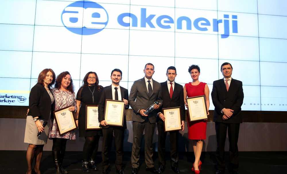 """Akenerji'ye """"The ONE Awards"""" Ödülü"""