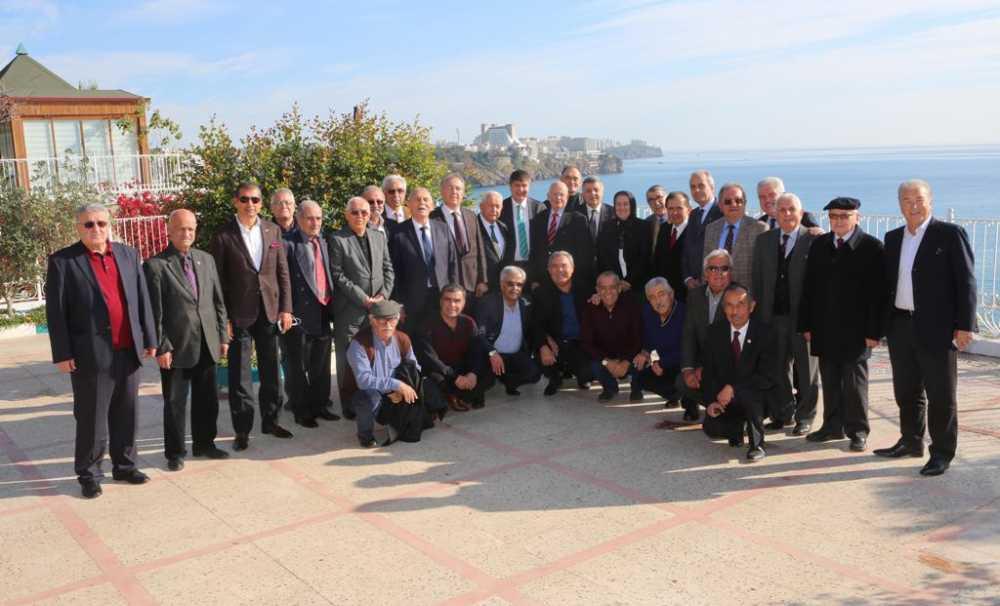 Antalya'Nın Eski Vekilleri Tek Çatı Altında Toplanacak