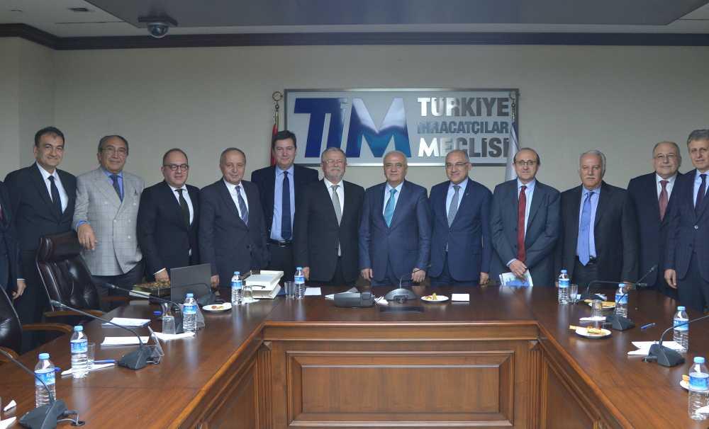 Çelik ihracatçıları birliği Ekonomi Bakanlığı ile buluştu