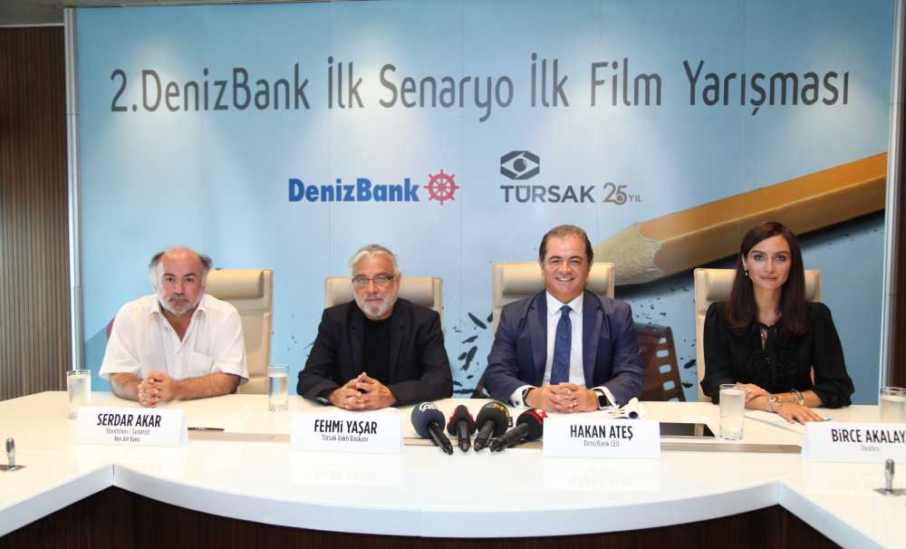 DenizBank ve TÜRSAK İşbirliğinde Türk Sinemasına Büyük Destek