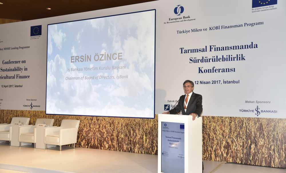 EBRD'nin Türk Tarımına Katkısı 1 Milyar Euro'yu Aştı