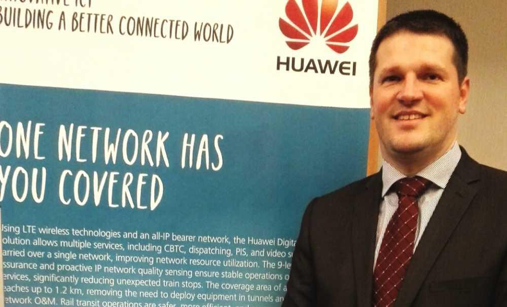 Huawei Raylı Sistemlerin Teknolojik Geleceğine Yatırım Yapıyor