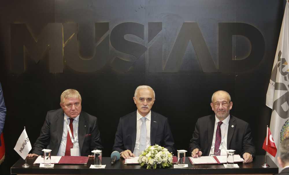 MÜSİAD, İran, Rusya ve Ürdün ile MoU anlaşmaları imzaladı
