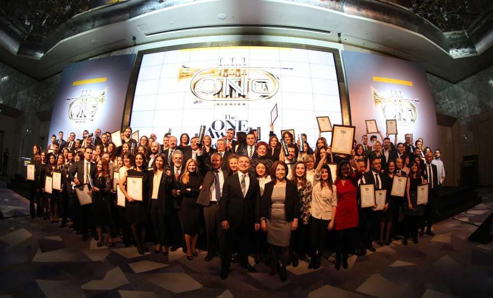 The ONE Awards Bütünleşik Pazarlama Ödülleri Sahiplerini Buldu
