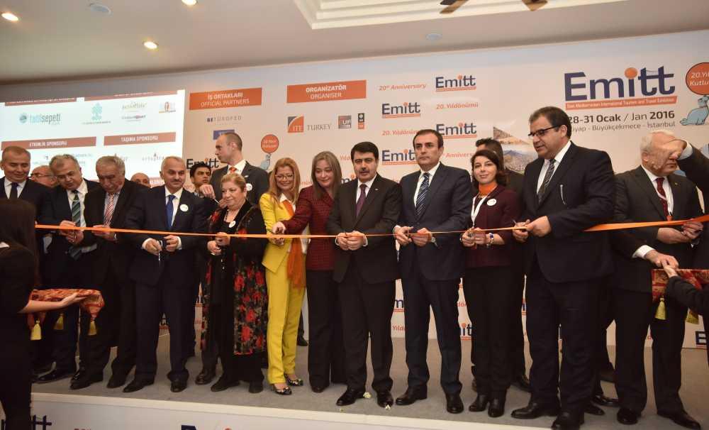 Turizm sektörünün uluslararası buluşma noktası EMITT Turizm Fuarı Açıldı!