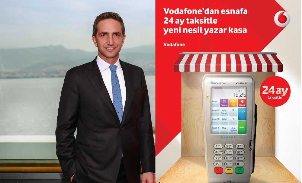 Vodafone ve Profilo ödeme sistemleri işbirliği ile esnaf yarına hazır