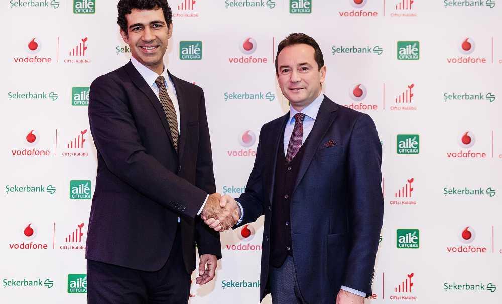 Vodafone Ve Şekerbank, Çiftçi İçin Güçlerini Birleştirdi