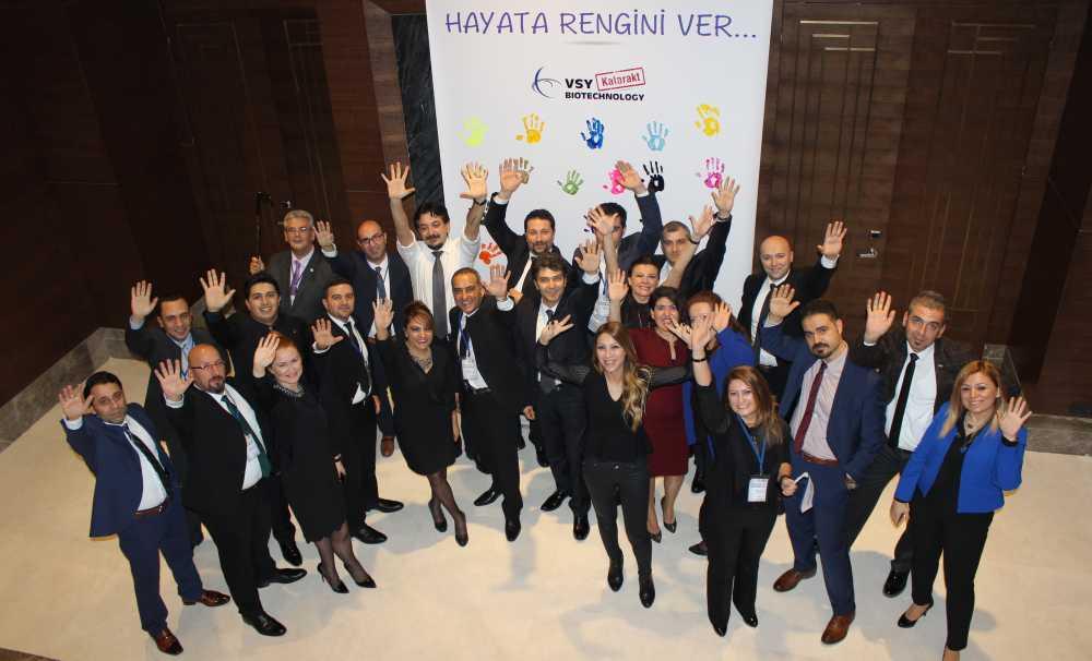VSY Biotechnology Strateji Toplantısı'nda bir araya geldi
