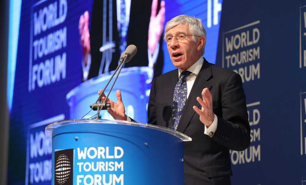 World Tourism Forum David Miliband ve Jack Straw'u Konuk Etti