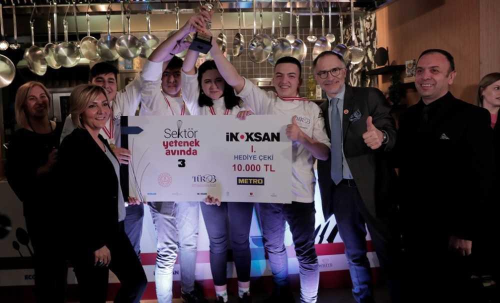3. Turizm Meslek Liseleri Arası Aşçılık Yarışması'nda ödüller sahiplerini buldu.