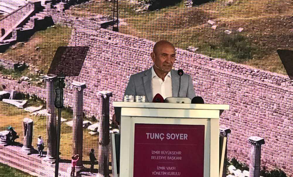 Başkan Tunç Soyer, Visitİzmir lansmanında konuştu....