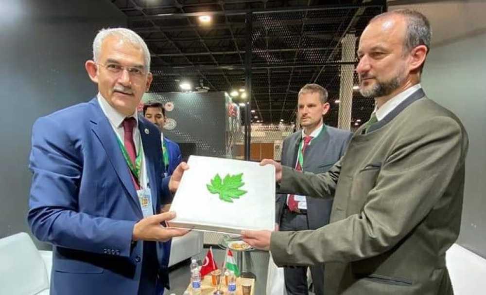 OGM, Budapeşte'de düzenlenen Dünya Avcılık ve Doğa Fuarı'na katıldı.