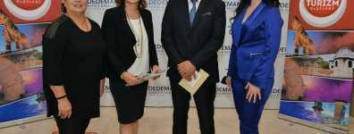 'TUTAP Ödülü' Banu Dedeman'a verildi.
