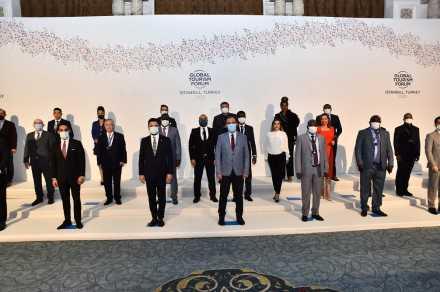 """""""Turizmin Davos'u"""" olarak bilinen Global Turizm Forum,online olarak düzenlendi."""