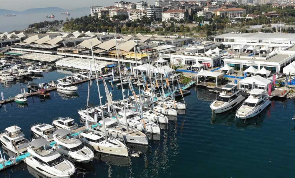 Tekneler CNR Avrasya Boat Show'da yelken açtı...
