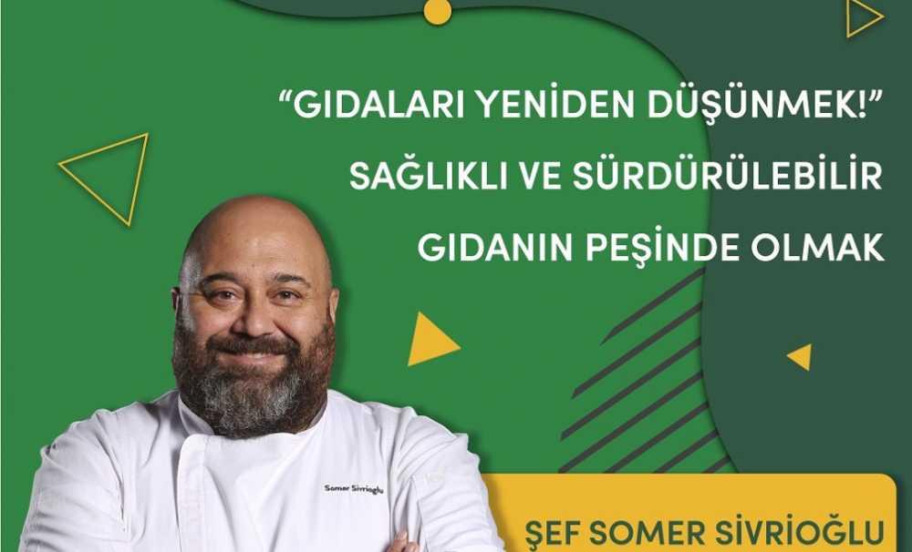 WorldFoodİstanbul'da Şef Somer Sivrioğlu, gıdalara bakışımızı değiştirmeye hazırlanıyor....