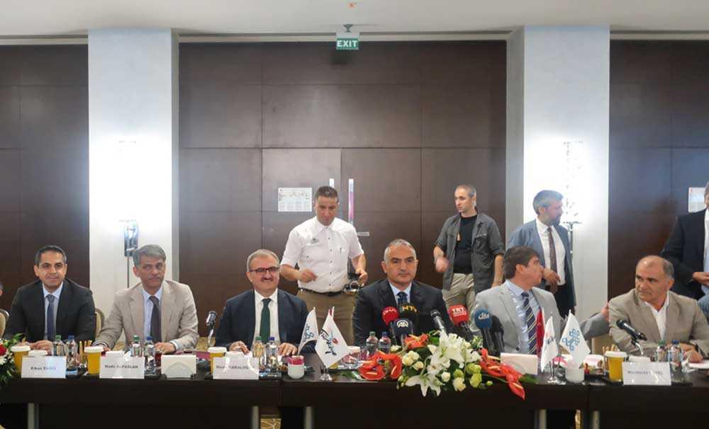Bakan Mehmet Ersoy; Nicelik değil nitelikli turizm hedefimiz olacak
