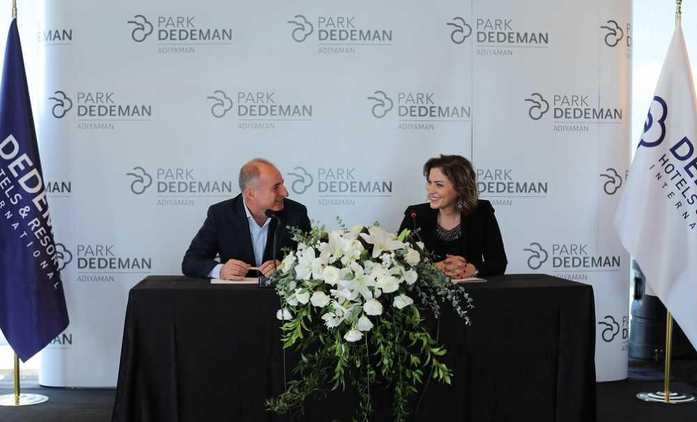 Adıyaman'ın tek uluslararası markalı oteli Park Dedeman Adıyaman açıldı...