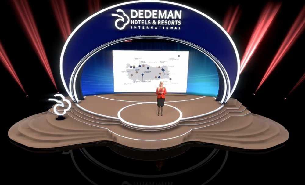 """Dedeman Hotels & Resorts International,""""Yeni Nesil Dijital Toplantı Platformu"""" uygulaması ile fark yaratacak"""
