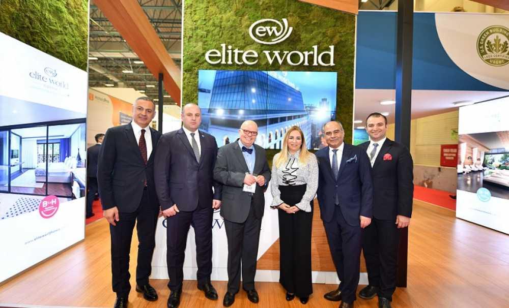 Elite World Hotels, EMITT Fuarı'nda yatırımlarıyla dikkat çekti,,,