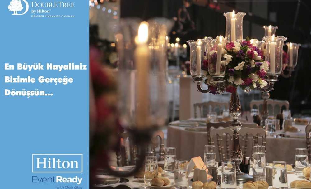İstanbul'un en şık düğün oteli  DoubleTree By Hilton İstanbul Ümraniye,