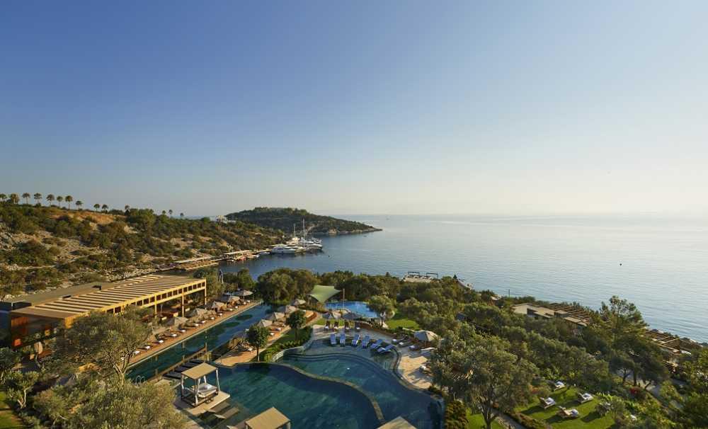 Mandarin Oriental, Bodrum Avrupa'nın en iyi 6. resortu oldu.