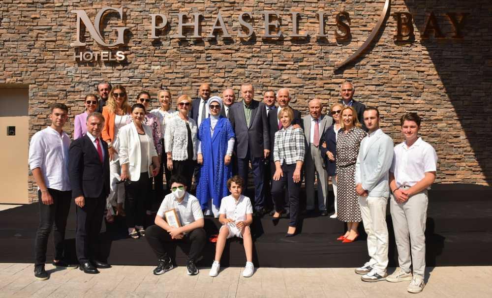 NG Phaselis Bay'ın resmi açılışı Cumhurbaşkanı Recep Tayyip Erdoğan'ın katılımıyla gerçekleşti...