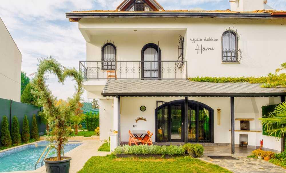 Sapanca'da Yeşilin İçinde Farklı Bir Rota: Uğurlu Dükkan Home Villaları!