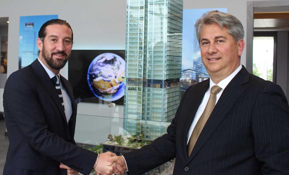 Sheraton'la Güray Group 80 milyon dolarlık otel için imzayı attı