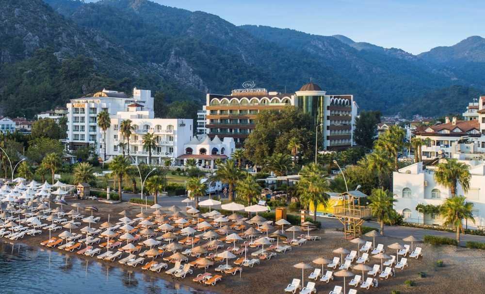 Sonbaharda tatil tercihi Elite World Marmaris Hotel,