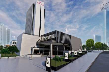 Crowne Plaza Ankara yeni yerinde 2020 yılında açılacak