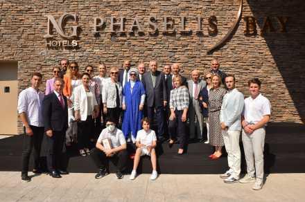 NG Phaselis Bay'ın resmi açılışı Cumhurbaşkanı Recep Tayyip Erdoğan'ın katılımıyla gerçekleşti…