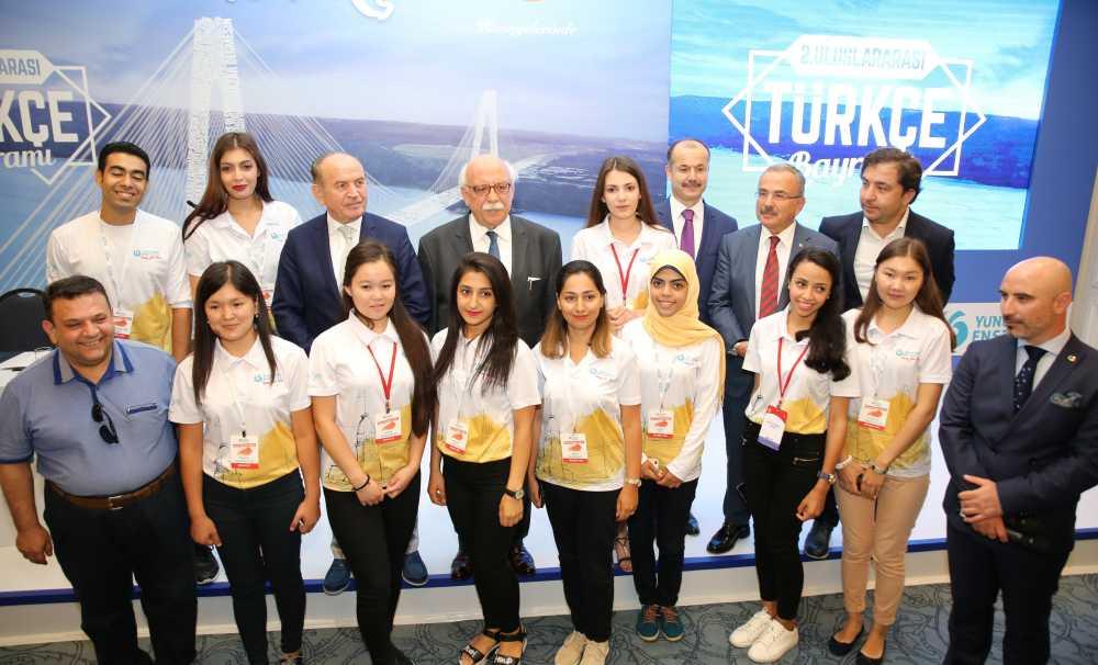 2. Uluslararası Türkçe Bayramı 27 Ağustos'ta İstanbul'da gerçekleşecek