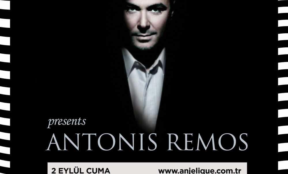 ANTONIS REMOS, HAYRANLARIYLA ANJELIQUE BODRUM'DA ZUBİZU AYRICALIĞIYLA BULUŞUYOR