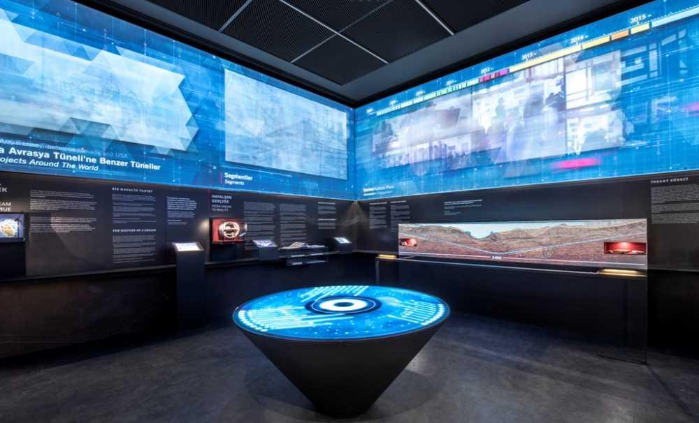Avcı Architects'ten Son Teknoloji Sergi Tasarımı: Avrasya Tüneli Müzesi