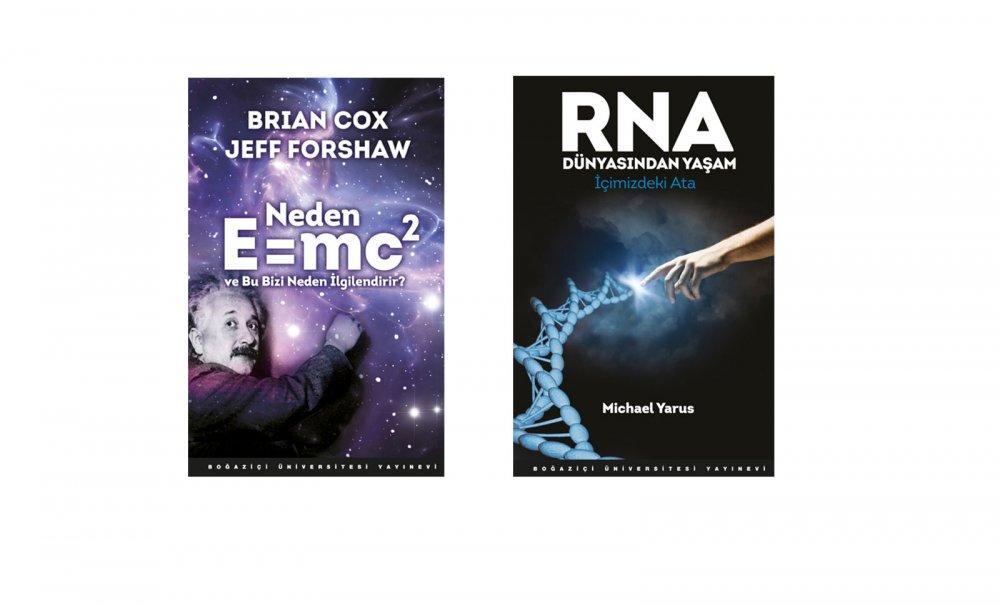 Boğaziçi Üniversitesi iki yeni kitabı bilim meraklılarıyla buluşturuyor