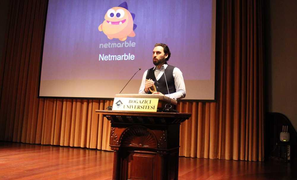 """Boğaziçi'Nden Netmarble'A """"Yılın Oyun Firması"""" Ödülü"""