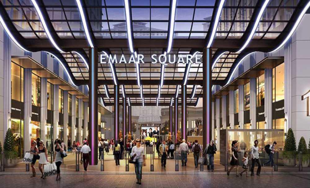 Emaar Square Mall'da Işıl Işıl Bir Sergi